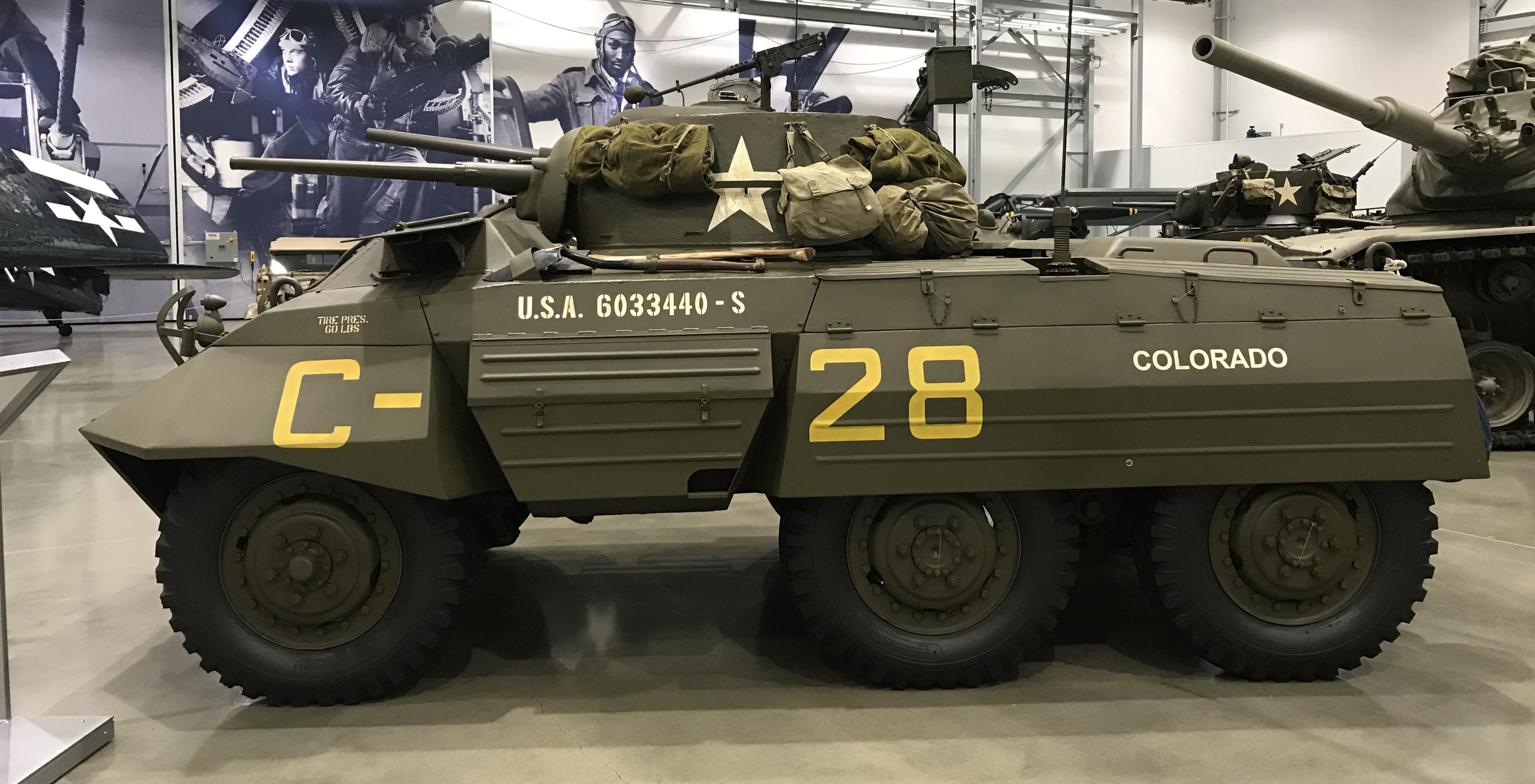 Ford M8 Greyhound