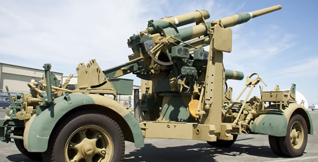 88 mm Flak 37 Anti-Aircraft Gun