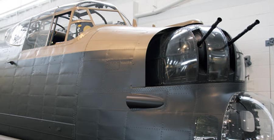 Avro Lancaster B. Mk.I nose section