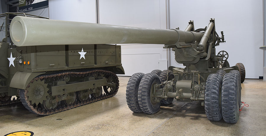 "M2 155mm ""Long Tom"" Field Gun"