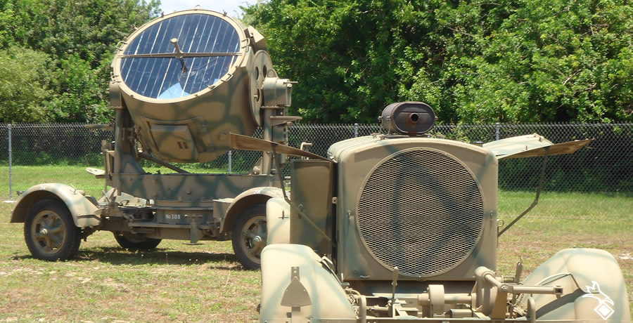 24-Kilowatt Generator and 150 cm Searchlight
