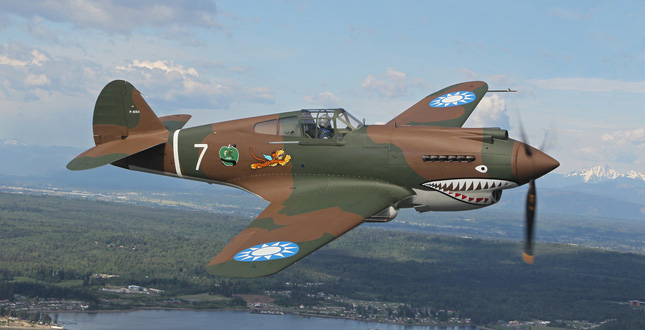 Curtiss P-40C Tomahawk