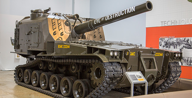 FHCAM - M55 8-inch Self-Propelled Howitzer